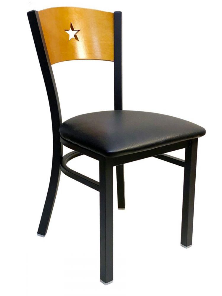 #315/STAR Star Wood Back Chair Natural