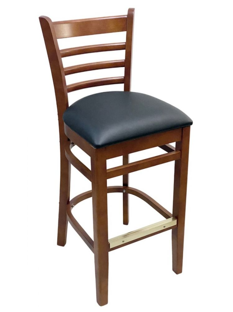 #411A-BS/ Beech Ladder Bar Stool Cherry
