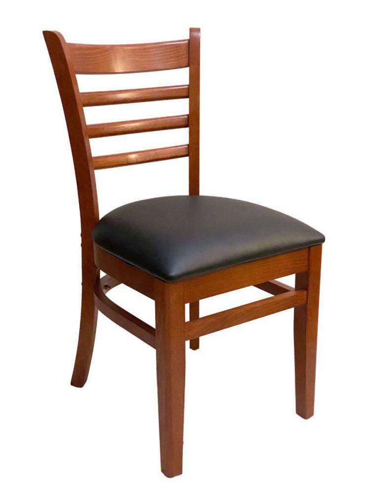 #411A/ Beech Ladder Chair Cherry