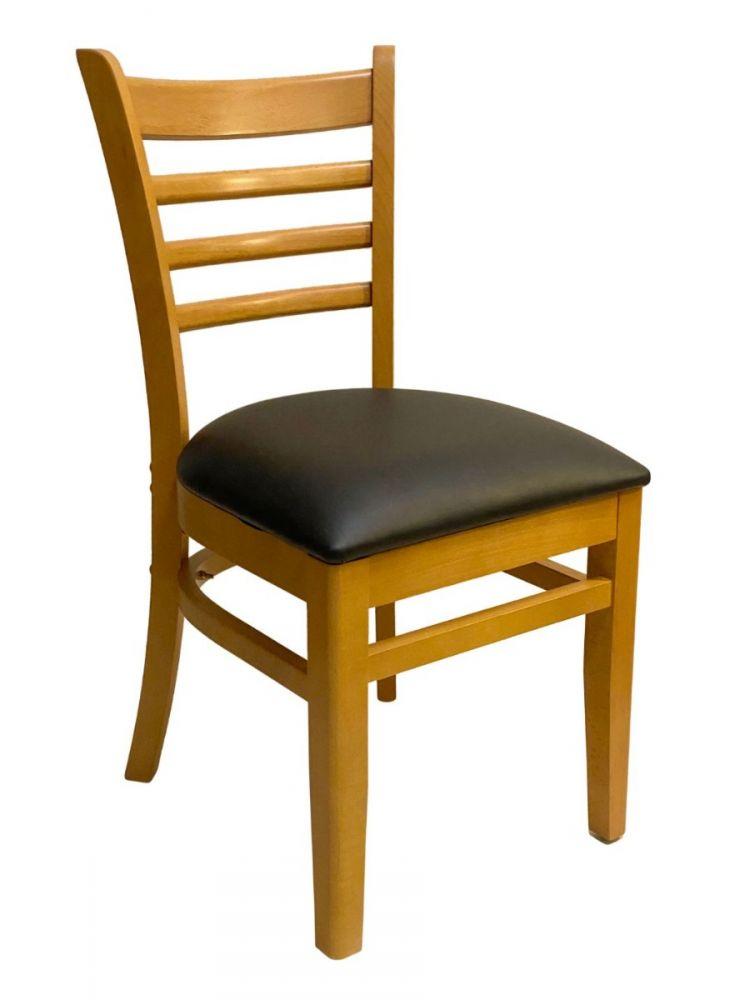 #411A/ Beech Ladder Chair Natural Oak