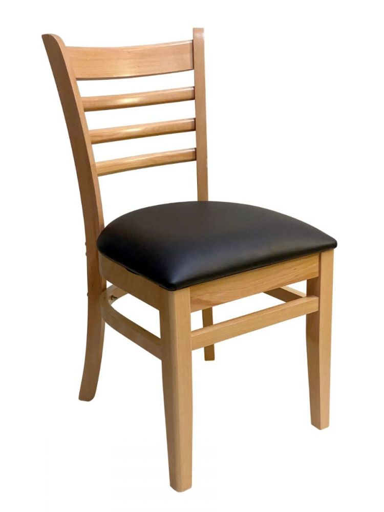 #411A/ Beech Ladder Chair Natural