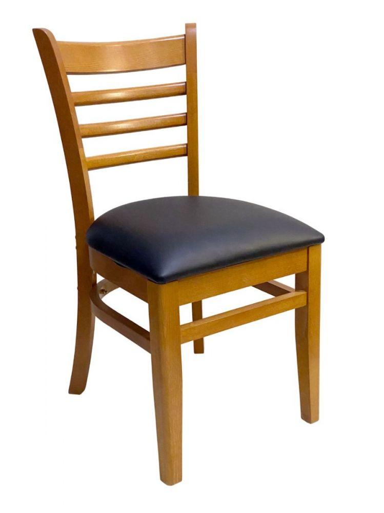 #411A/ Beech Ladder Chair Oak