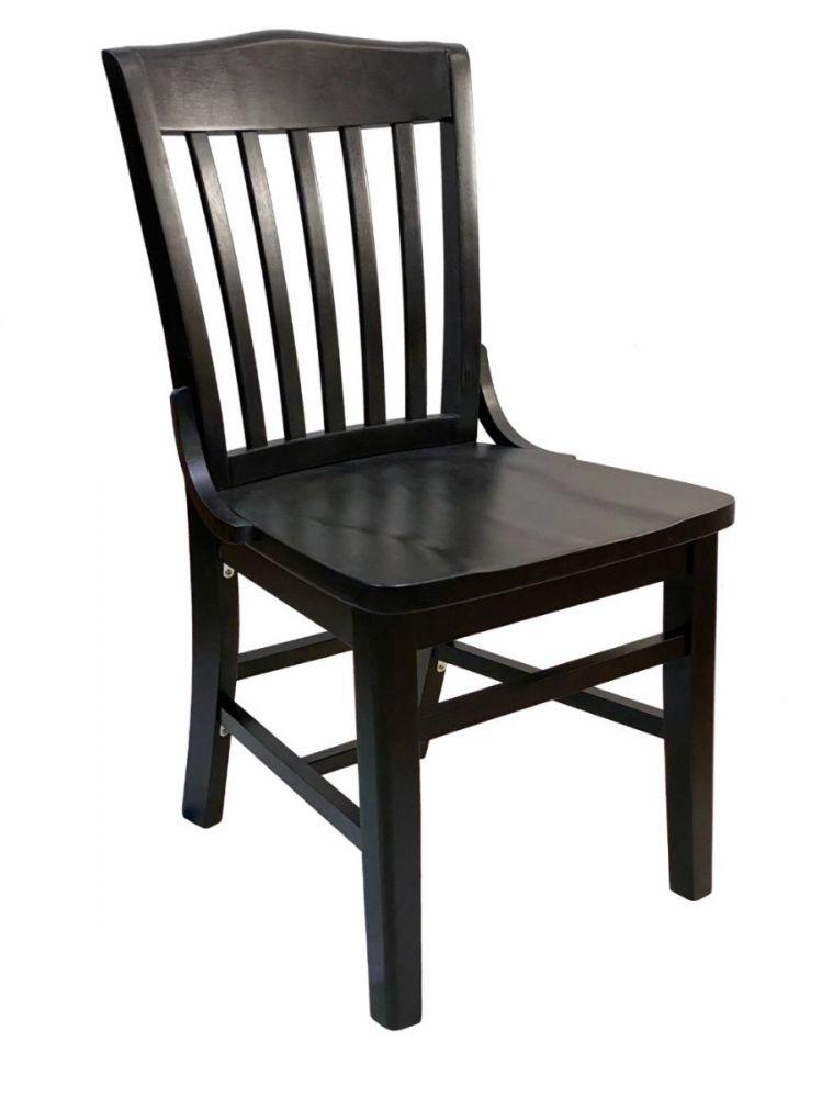 #415/ Beech School House Chair Black