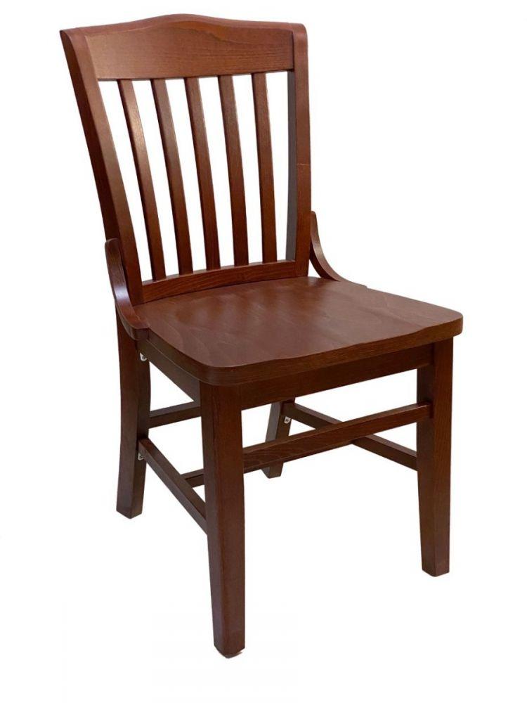 #415/ Beech School House Chair Brown