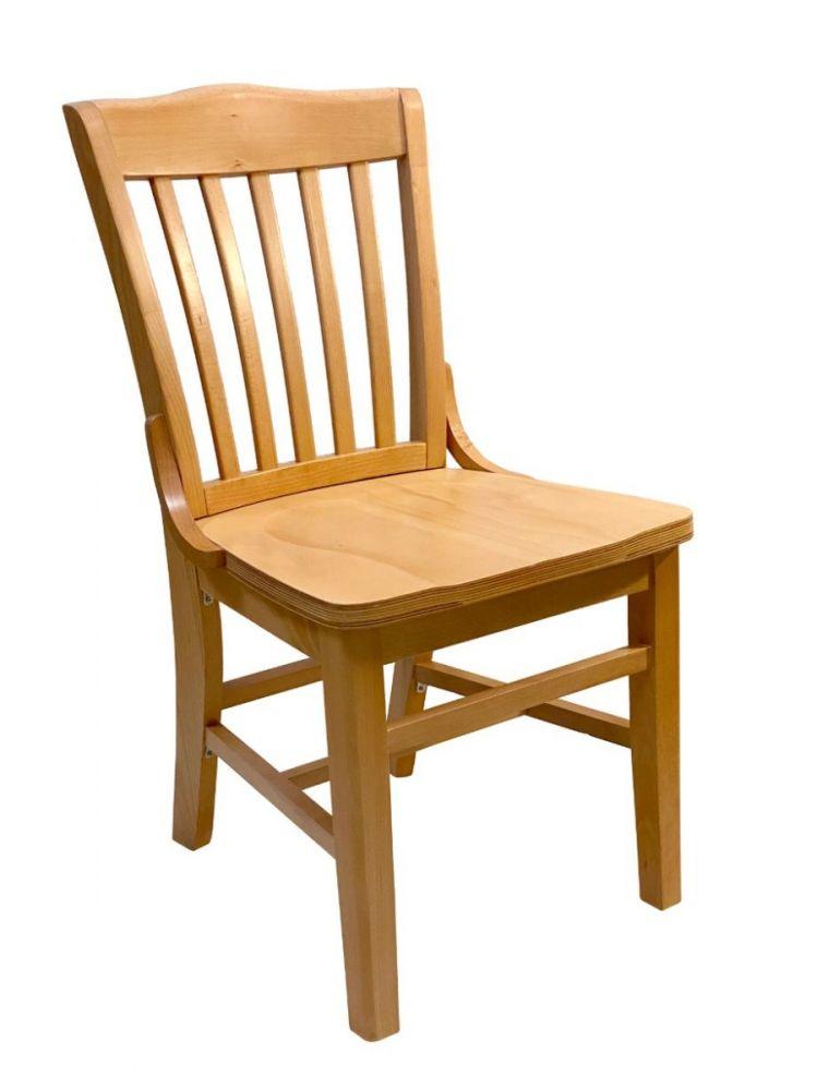 #415/ Beech School House Chair Natural