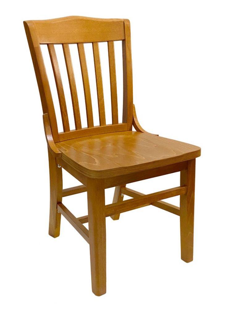 #415/ Beech School House Chair Oak