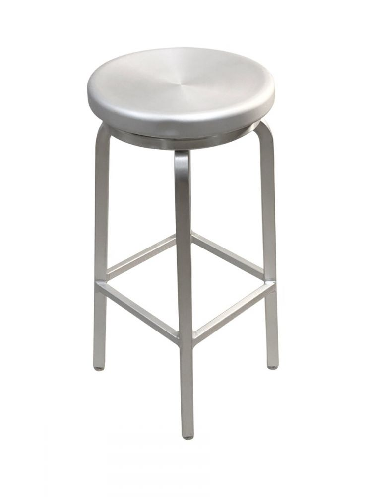 #808BS/ Backless Round Bar Stool-24