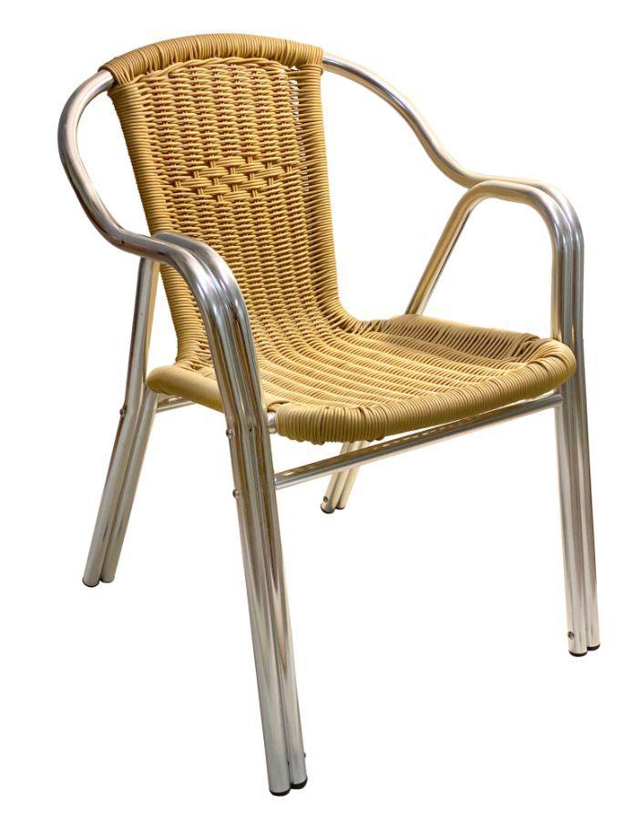 AL_C/NAT Aluminum Chair Natural