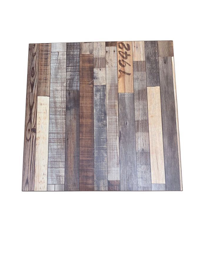 AST3636/ Antique Style Laminated Table Top 36in X 36in Square