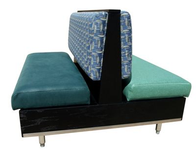 CT36D/ 36in Contempo Back Double Booth