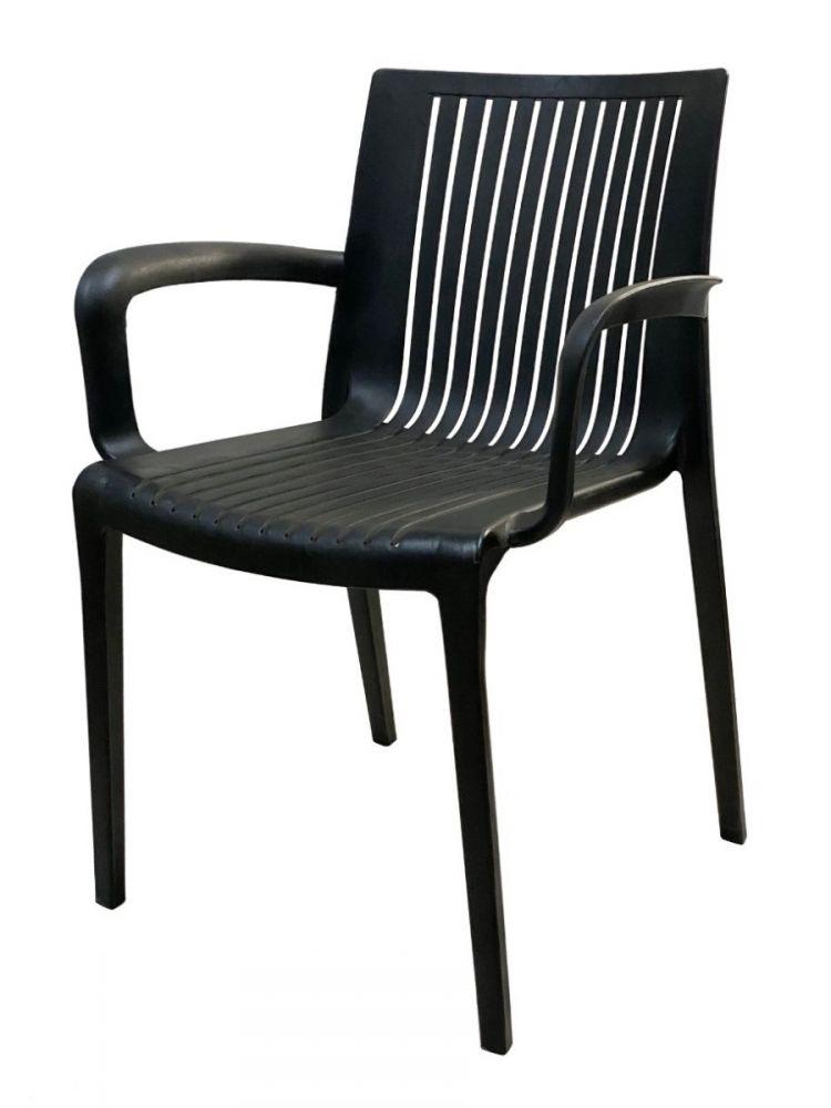 FLORANCE/BLK Polycarbon Fiberglass Chair