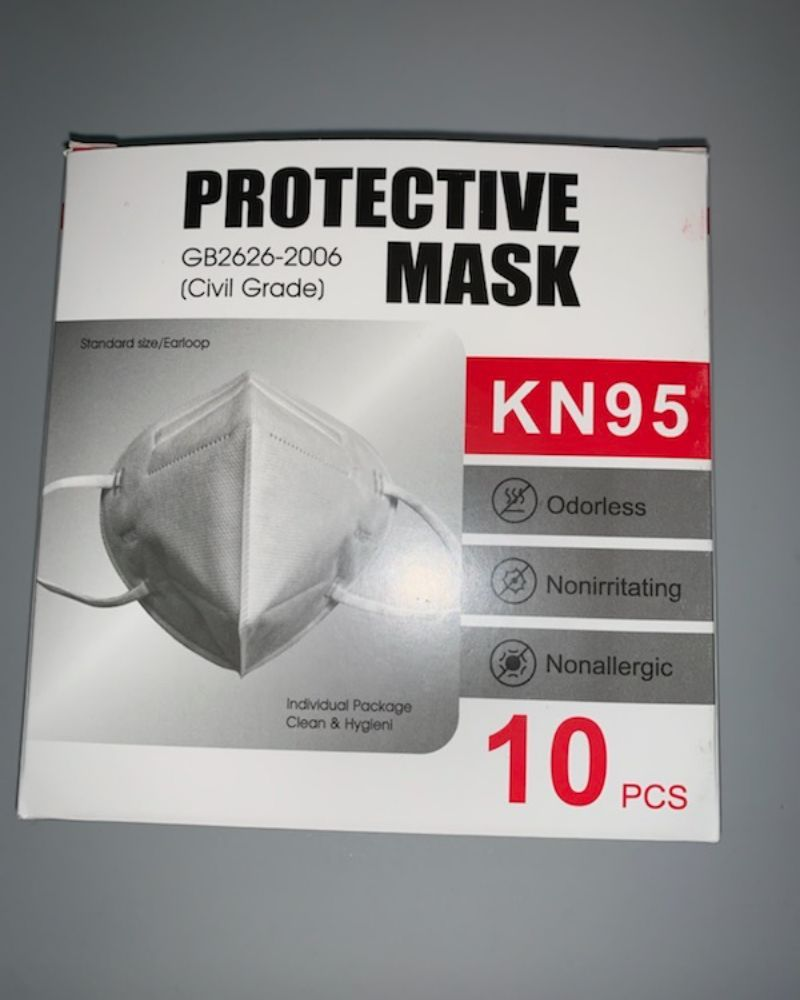 KN95 Respirator Disposable Masks (10pcs)