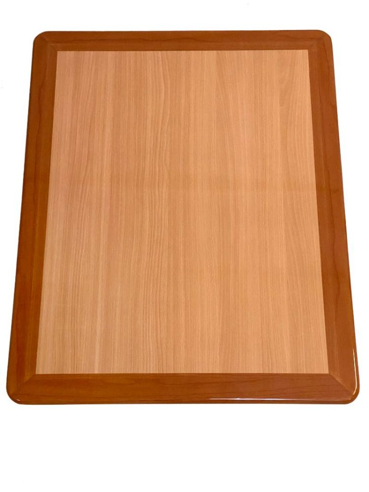 RNOT2430/ Resin Top w/ Dual Colors Natural/Oak 24in X 30in Rectangle