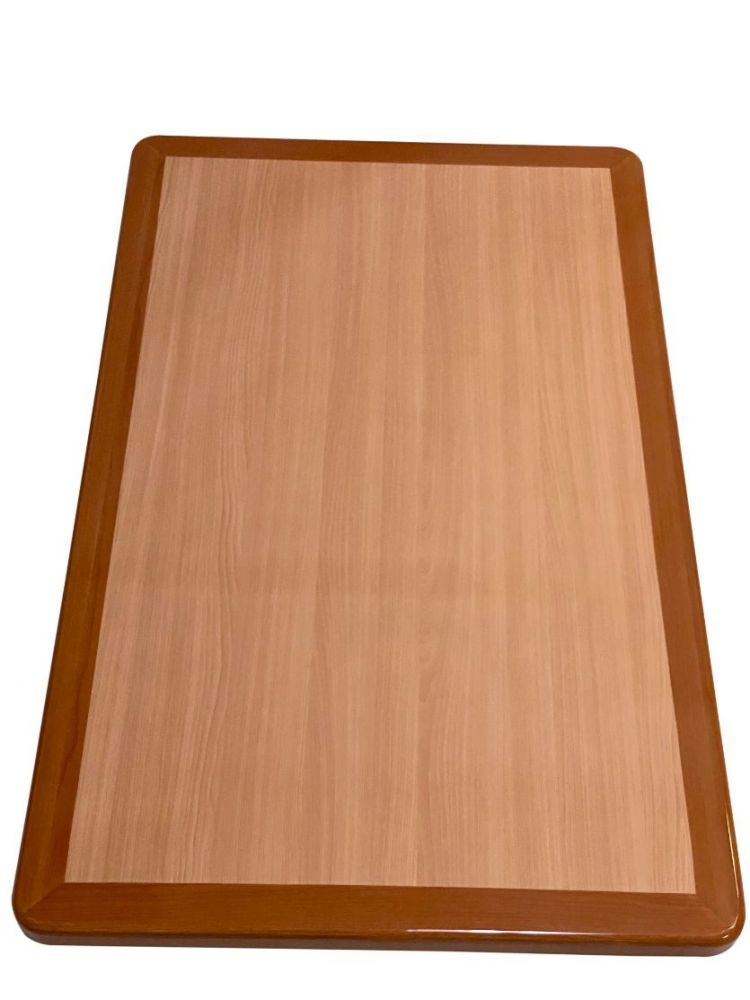 RNOT3048/ Resin Top w/ Dual Colors Natural/Oak 30in X 48in Rectangle