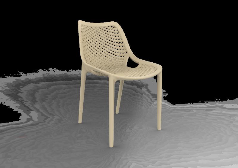 SPRIG/SAND Polycarbon Fiberglass Chair