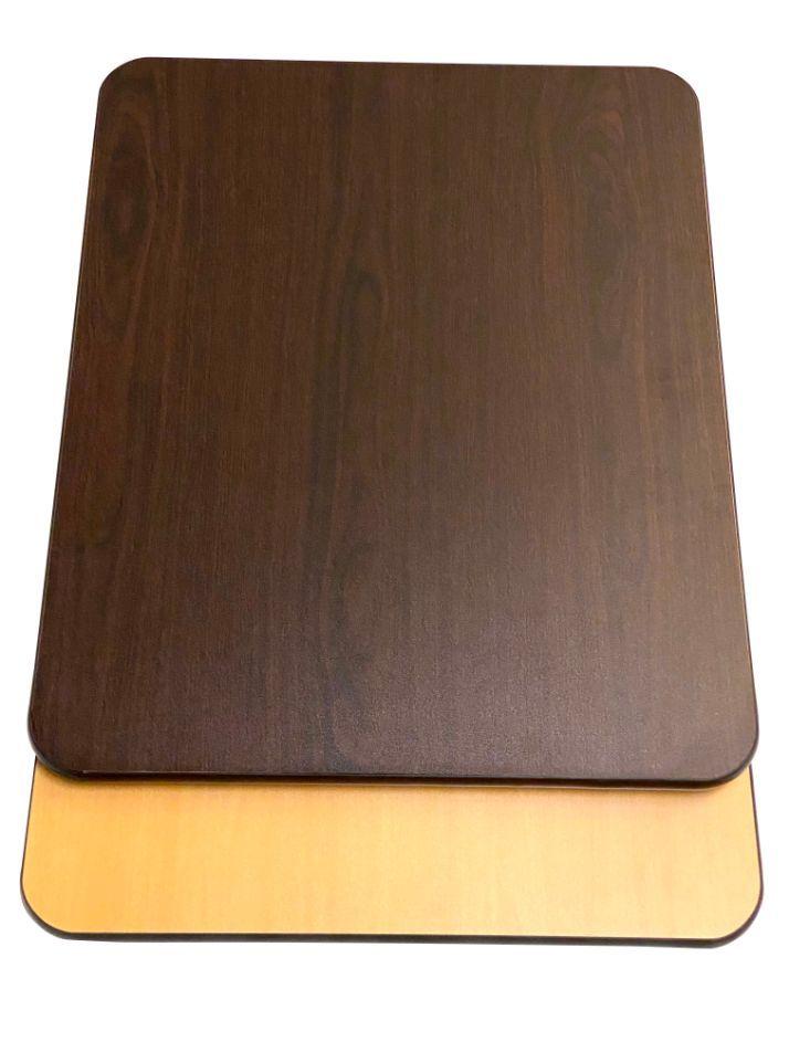 WOT3042/ Walnut/Oak Reversible T-Molding Top 30in X 42in Rectangle