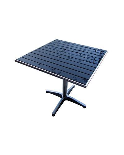 TTBT3030/ Black Inlay w/ Aluminum Edge 30in X 30in